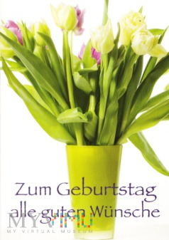 Duże zdjęcie Zum Geburtstag alle guten Wünsche
