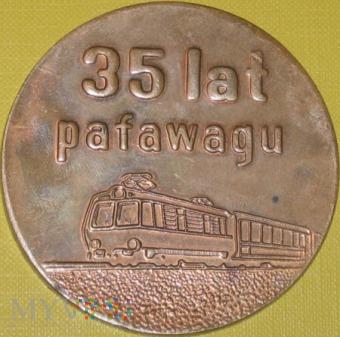 Medal XXXV lat Pafawagu