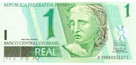 Brazylia - 1 real (2003)