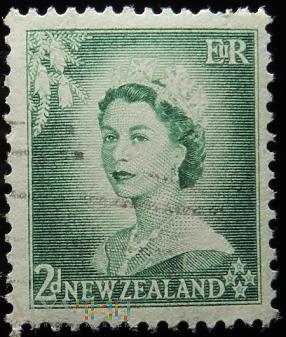 Nowa Zelandia 2 D Elżbieta II
