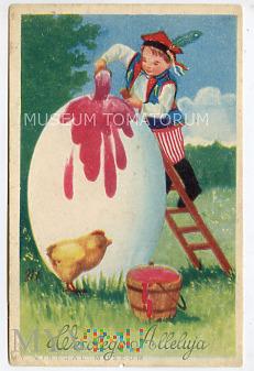 Wesołych Świąt Wielkanocnych - 1950