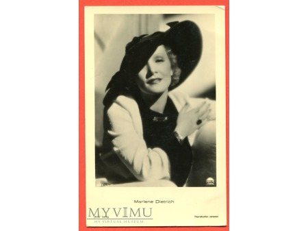 Marlene Dietrich Verlag ROSS 8685/1