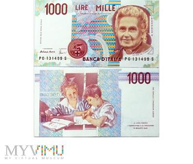 Duże zdjęcie 1 000 Lire, 1998 (II)