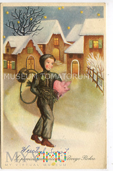 Świnka Noworoczna - 1949