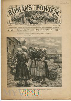 Duże zdjęcie Romans i Powieść - Nr 145, 30 września 1883 roku