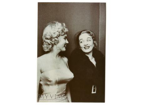 Duże zdjęcie Marlene Dietrich i Marilyn Monroe Foto lata 50-te