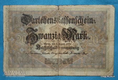 20 Mark 1914