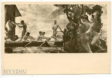 Duże zdjęcie Otto Greiner - Odyseusz i syreny