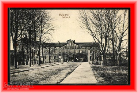 BIAŁOGARD Belgard Dworzec kolejowy
