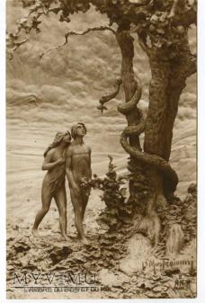 D. Mastroianni - Adam i Ewa przy zakazanym drzewie
