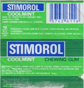 Opakowanie po gumie STIMOROL
