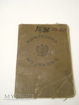 Książeczka Wojskowa 1 pułk Szwoleżerów