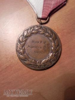 Medal nagrodowy kursu PW 1925