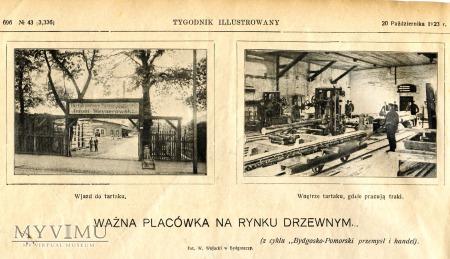 """Gazeta """"Tygodnik Ilustrowany"""" 1923"""