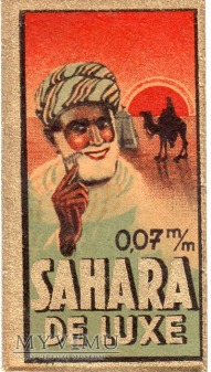 Żyletka Sahara de Luxe - Niemcy