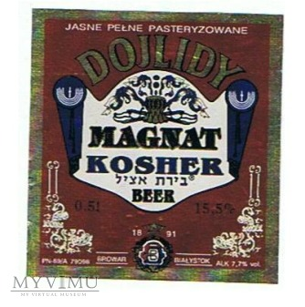 dojlidy magnat kosher