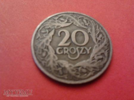 20 groszy 1923.
