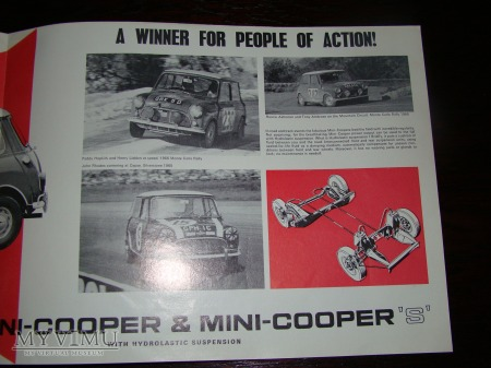 Prospekt AUSTIN MINI-COOPER