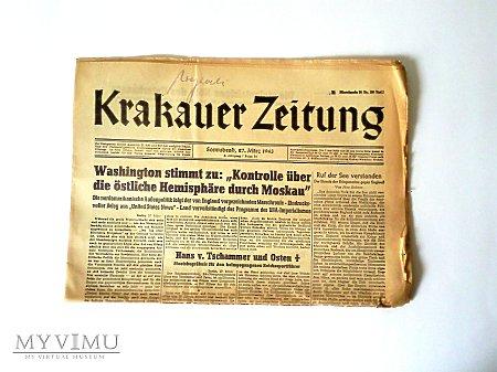 Duże zdjęcie Krakauer Zeitung (1943)