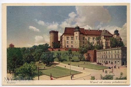 Kraków - Wawel od wschodu - lata 30-te