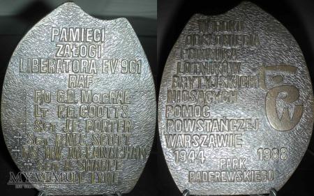 140.Pamięci załogi Liberatora EV 961 RAF Wersja II
