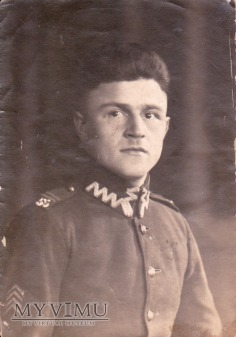Fotografia kaprala 55 Pułku Piechoty