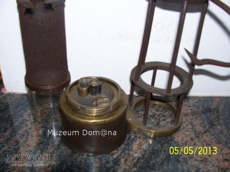 LAMPA GÓRNICZA BENZYNOWA -F&W ZWICKAU MODEL 1910