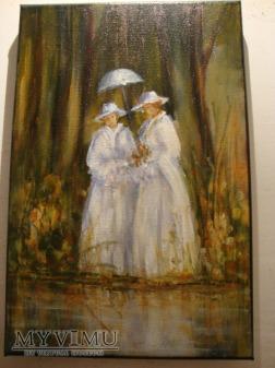 Dwie damy Cezary Garbowicz