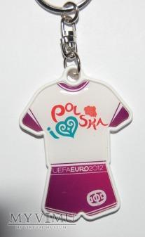 Brelok EURO 2012 koszulka