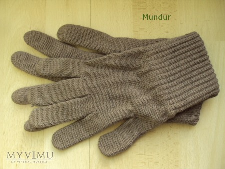 Rękawice dziane NRD - MdI