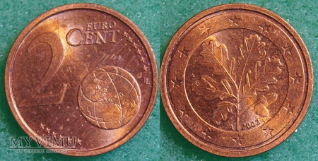 2 EURO CENT 2002 A
