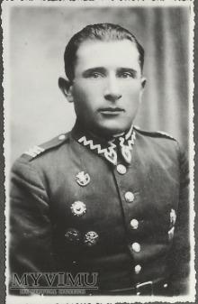 Plutonowy Zygmunt Gajewski z 25 Pułku Ułanow W.