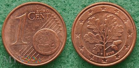 1 EURO CENT 2009 F