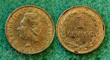 Salwador, 1 centavo 1977