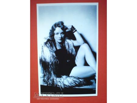 Duże zdjęcie Marlene Dietrich Pocztówka Chiny 2011 n.17