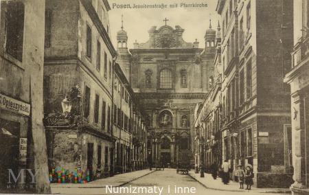 Poznań z przed 100-u lat.