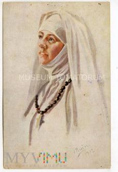 Ruin - zakonnica - modlitwa