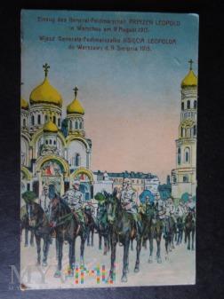 Warszawa 1915 r. - Kartka Pocztowa