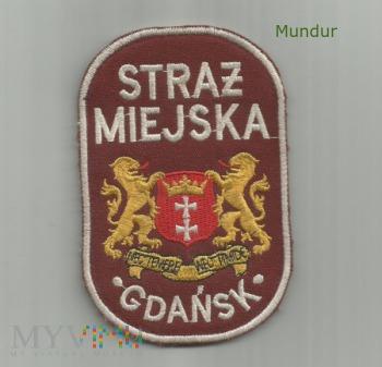 Oznaka Straż Miejska Gdańsk