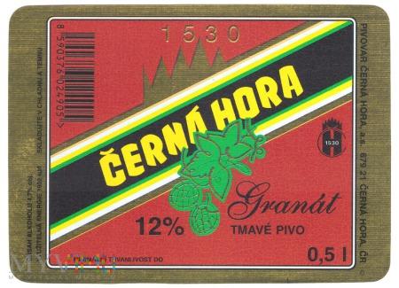 ČERNÁ HORA, Granát