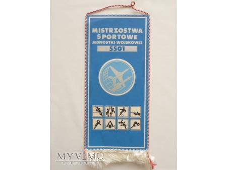 MISTRZOSTWA SPORTOWE JW 5501