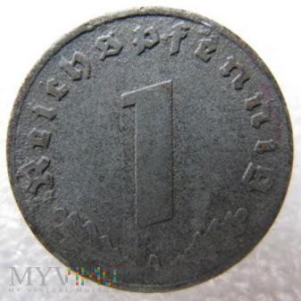 Duże zdjęcie 1 reichspfennig 1940 Niemcy (Trzecia Rzesza)