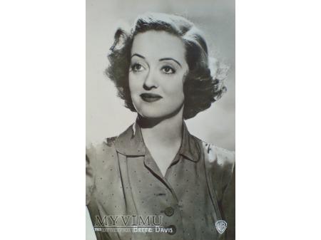 Bette Davis - Pocztówka P.I. ach te oczy....