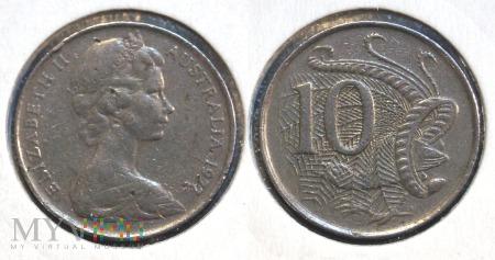Australia, 10 centów 1977