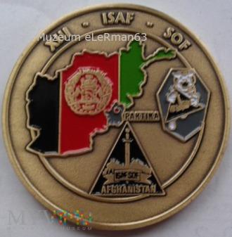 Coin. ISAF SOF XIII zm. JWK Lubliniec. TF-50.