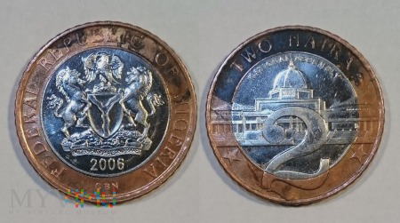 Nigeria, 2 naira 2006