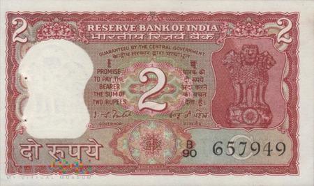 INDIE 2 RUPIE 1977