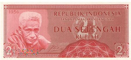 Indonezja - 2,5 rupii (1956)