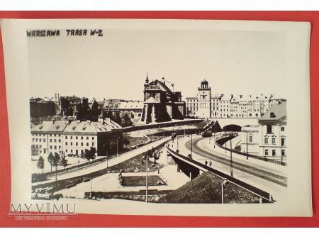 Warszawa Traza W-Z początek lat 50-tych
