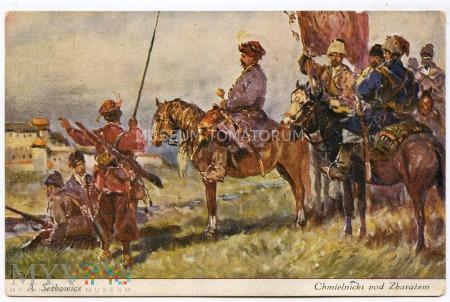 Duże zdjęcie Setkowicz - Chmielnicki pod Zbarażem - lata 20/30